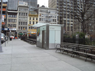 The Pubilc Toilet in Madison Square Park
